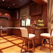 中式风格厨房装修灯光设计