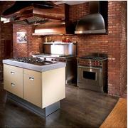 美式风格厨房装修色调搭配