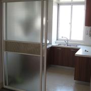 别墅厨房移门装修隔断图
