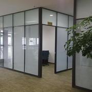 办公室百叶窗帘装修玻璃隔断