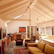 别墅客厅吊顶装修灯光设计