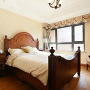 美式风格别墅装修卧室图