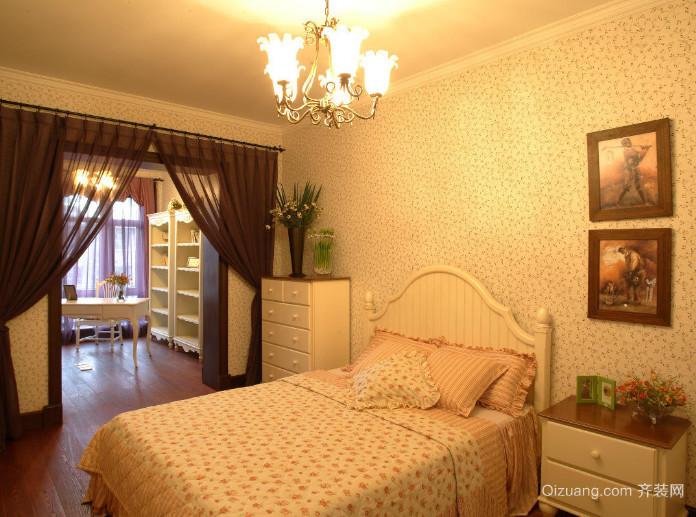 清新可人的韩式卧室装修效果图