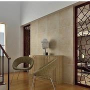 中式风格楼梯设计背景墙图