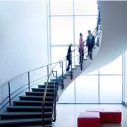 北欧风格楼梯装修实景图