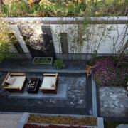 别墅庭院设计装修实景图