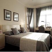地中海风格卧室壁纸装修图案设计