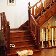 中式风格楼梯设计唯美图