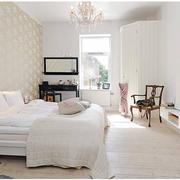 北欧风格卧室壁纸装修