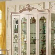 法式风格酒柜装修造型图