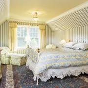 卧室墙纸装修造型图