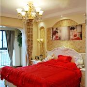 婚房布置窗帘图