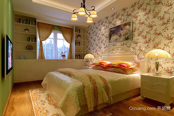 90平米都市混搭风格卧室装修效果图