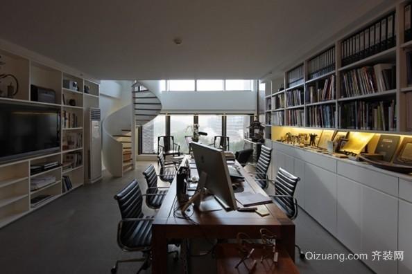 2015常见的大型企业员工办公室效果图