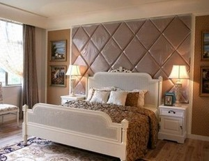 卧室软包背景墙装修效果图