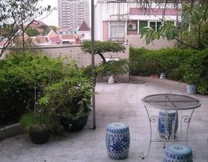 家庭小院子古典园艺设计效果图
