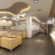 蛋糕店设计装修吊顶图