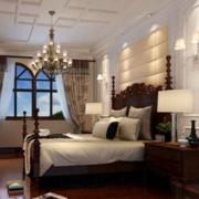 卧室设计装修窗帘图