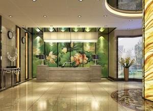 五星级酒店室内装饰画装修效果图