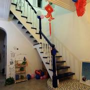 实木楼梯装修效果图