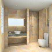 卫生间瓷砖隔断图