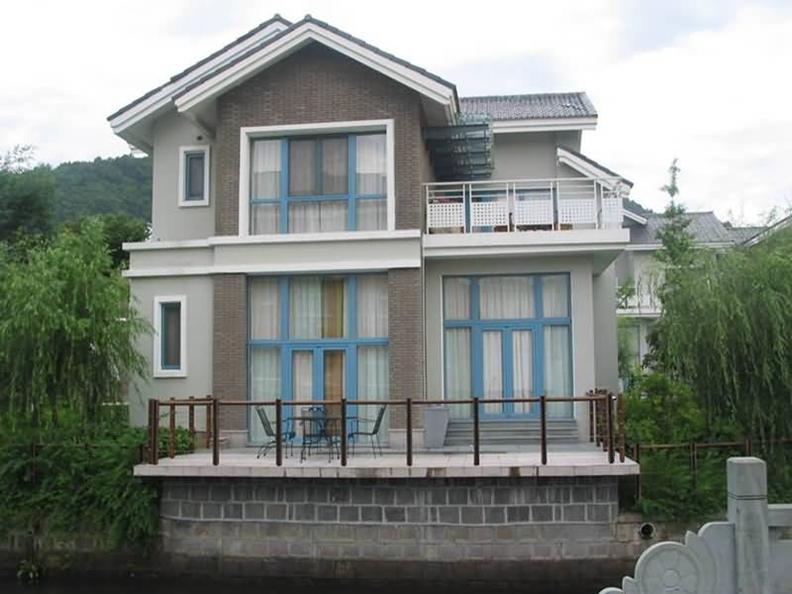 5 农村两层 复式 小洋楼 外观效果图 齐装网装
