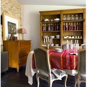 法式风格酒柜装修效果图