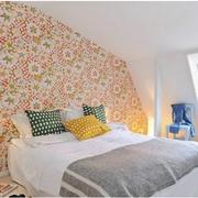 北欧风格卧室壁纸装修图案设计