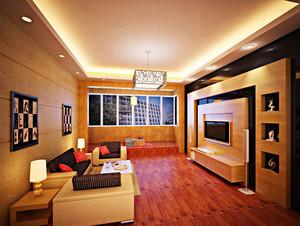 跟得上时代的大户型现代都市客厅装修效果图