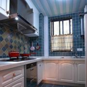 开放式厨房设计造型图