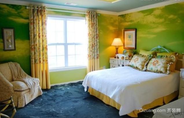 30平米创意小卧室装修效果图