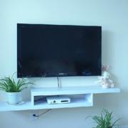 电视墙置物架装修模板