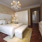 北欧风格卧室壁纸装修色调搭配