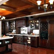 厨房装修整体图