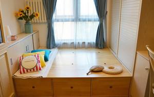 榻榻米卧室装修效果图