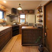 日式风格厨房装修色调搭配
