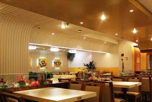 2015繁华地区的小户型快餐店装修效果图