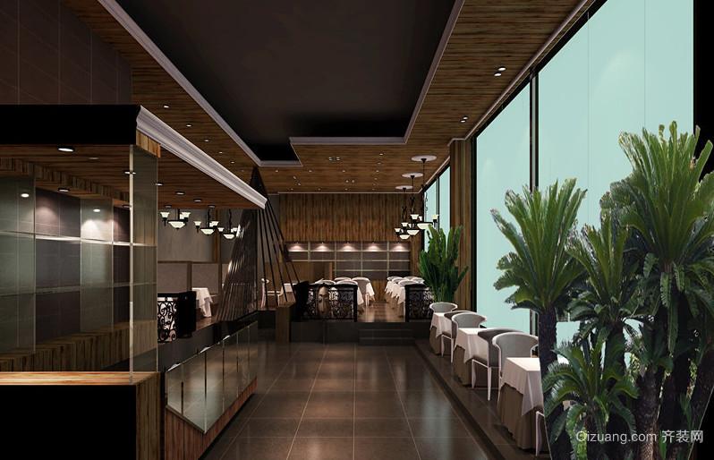 小有情调地中海风格咖啡厅装修效果图