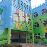 幼儿园手绘墙装修实例
