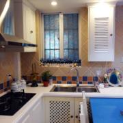 开放式厨房设计飘窗图