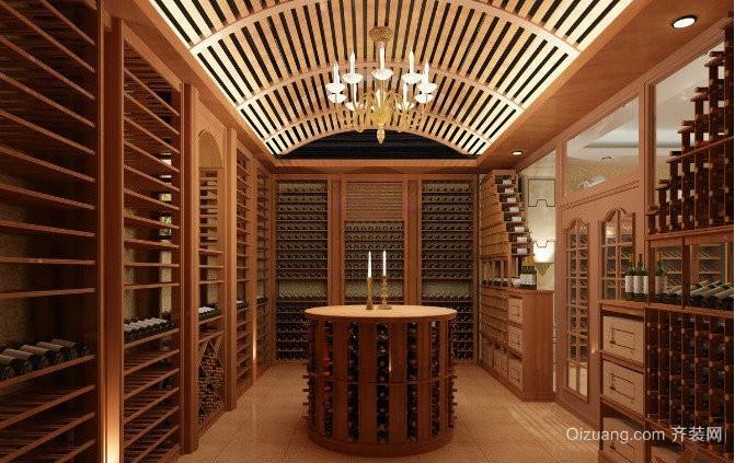 欧式红酒柜装修效果图
