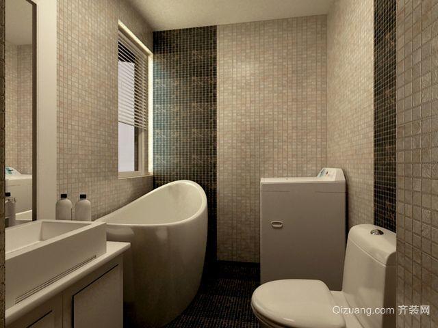 2015现代简约的卫生间设计装修效果图欣赏