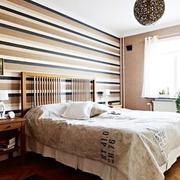卧室墙纸装修唯美图