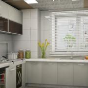 厨房欧派橱柜装修飘窗图