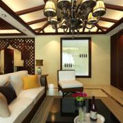 客厅吊顶装修设计实例