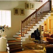 欧式风格楼梯装修扶手图