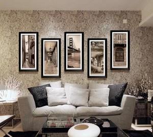 现代欧式风格室内家居装饰画装修效果图