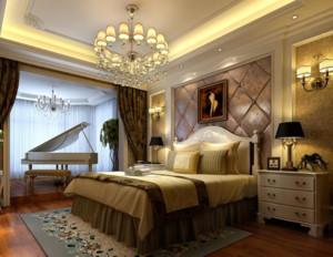 全新50平米豪华卧室装修效果图