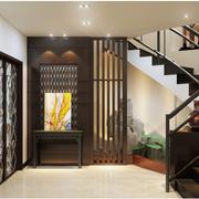 中式风格楼梯设计造型图