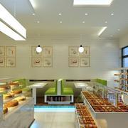 蛋糕店装修设计灯光设计